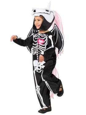 Skelly-Corn Girls Costume