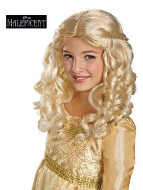 Girl's Sleeping Beauty Wig