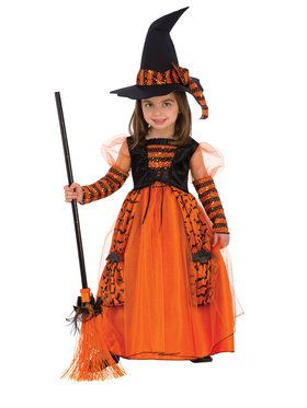 Sparkle Witch Girls Costume