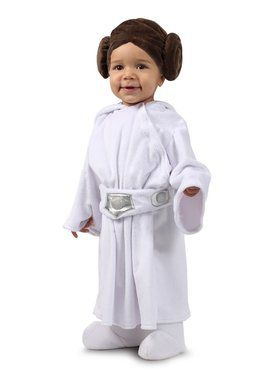 Star Wars Princess Leia Baby Girl Costume