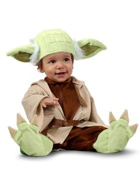 Star Wars Yoda Newborn Costume