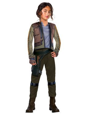 Jyn Erso Commander Rogue One: A Star Wars Story Costume Deluxe for Kids