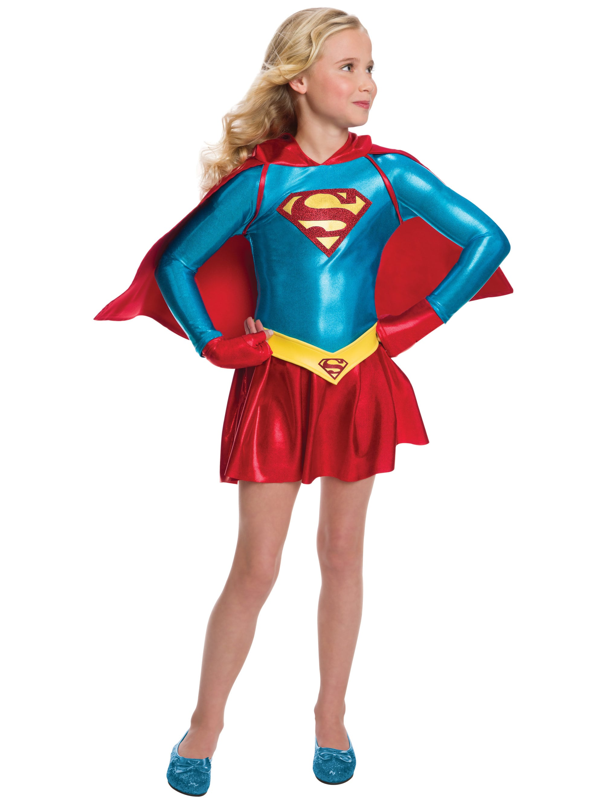 This kids Supergirl costume Imagine by Rubies DC Comics Supergirl Eyemask Children Costume Accessory. by Imagine by Rubie's. $ $ 11 83 Prime. FREE Shipping on eligible orders. More Buying Choices. $ (2 new offers) 5 out of 5 stars 3. Manufacturer recommended age: 3 - 10 Years.