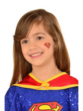 Supergirl Stick-on Tattoo