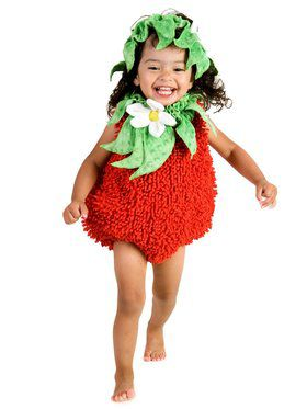 Suzie Strawberry Girl's Costume