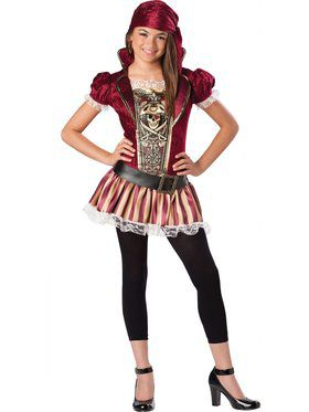 Girls Swashbucklin Sass Girls Costume