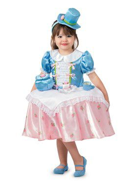Tea Party Tabletop Girl's Costume