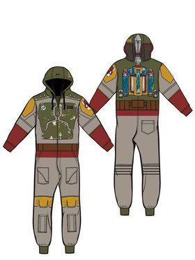 Teen Boba Fett Jumpsuit Costume
