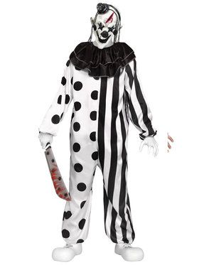 Girl's Teen Killer Clown Costume