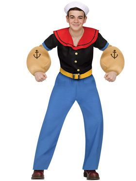 Teen Popeye Costume