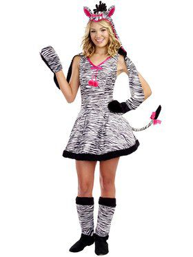 Girl's Teen Wild Thang Costume