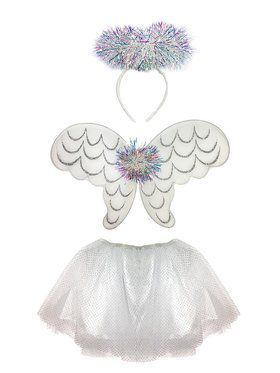 Tinsel Angel Girl's Skirt Set