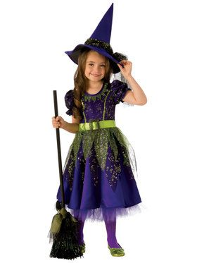 Twilight Witch Girls Costume