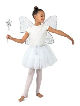 Twinkle The Glitter Fairy Girls Costume