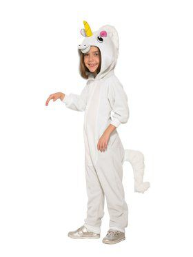 Unicorn Jumpsuit Girls Costume