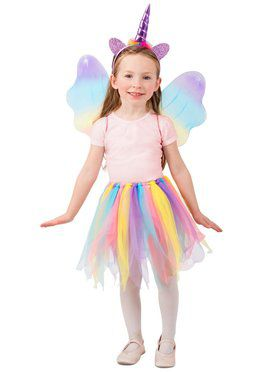 Unicorn Girl's Skirt Set