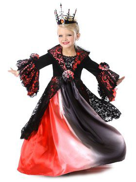 Girls Valentina the Vampire Child Costume