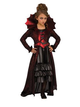 Victorian Vampire Costume For Children