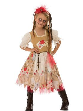 Girls Voodoo Costume
