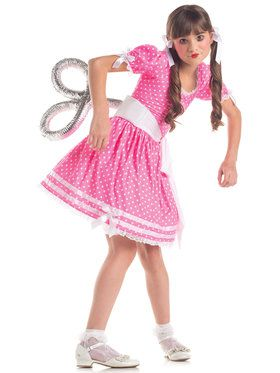 Girls Wind Up Doll Costume