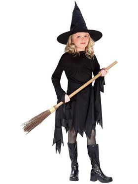 Witchy Witch Costume For Children