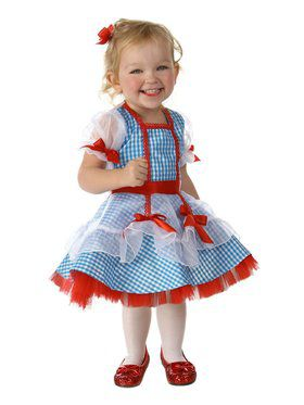 Wizard of Oz Glitter Dorothy Girl's Costume