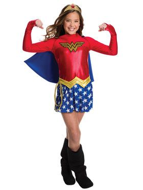 Wonder Woman Costume For Children
