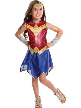 Kid's Deluxe Wonder Woman Costume