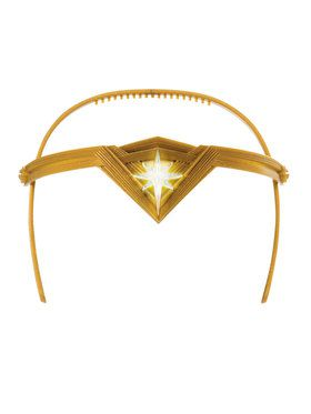 Wonder Woman Light Up Tiara Accessory for Girls