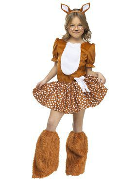 Oh Deer! Girls Costume