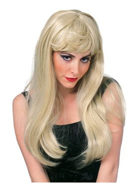 Blonde Glamour Wig for Adults