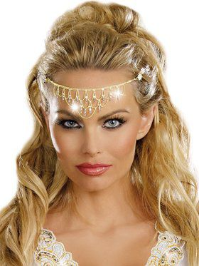 Glittering Rhinestone Headpiece for Women