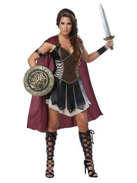 Glorious Gladiator Costume Women's
