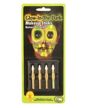 Glow-in-the-dark Makeup Sticks