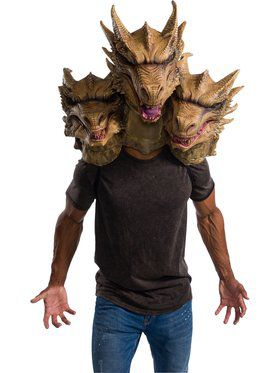 Godzilla: King of the Monsters Overhead Latex Ghidorah Mask