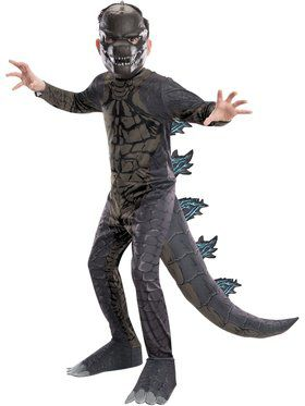 Godzilla: King of the Monsters Classic Godzilla Costume for Kids