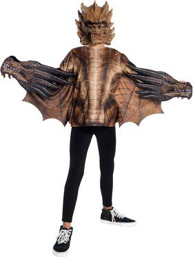 Godzilla: King of the Monsters King Ghidorah Deluxe Costume for Kids