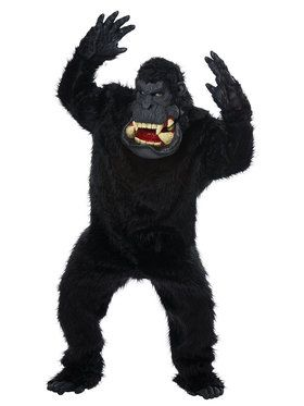 Big Mouth - Goin' Bananas Ape Costume for Adults
