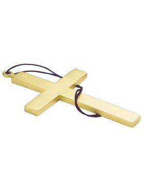 Gold 9 Inch Cross