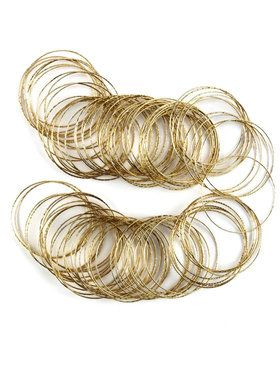 Pack of Gold Bangles