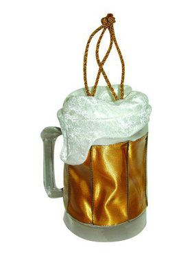 Gold Beer Mug Purse