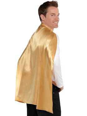 Gold Superhero Cape