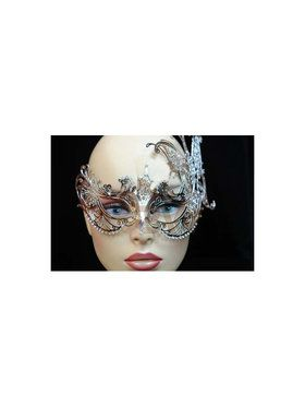 Golden Touch Laser Cut Metal Eye Mask