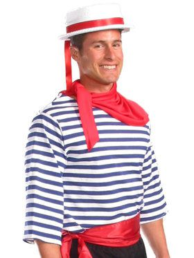 Gondolier Top Men's Costume