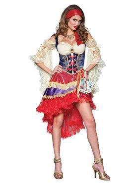 Good Fortune Teller Elite Gypsy Costume