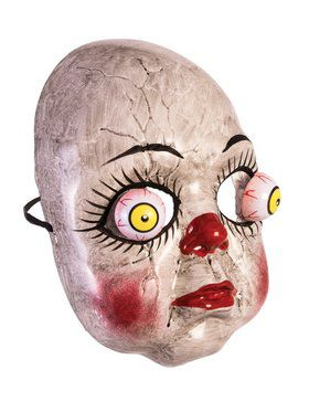 Google Eyes Doll Mask for Adults