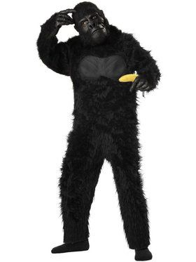 Gorilla Boy's Costume