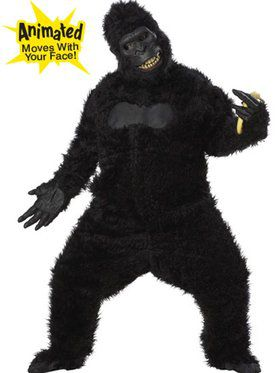 Gorilla Costume for Adults