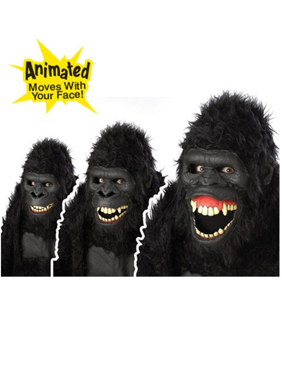 Gorilla Mask - Wholesale Animal Accessories