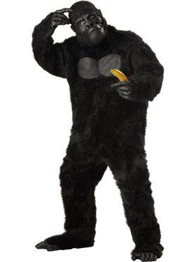 Gorilla Mens Plus Size Costume